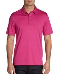 Michael Kors Sleek Cotton Polo - Lyst