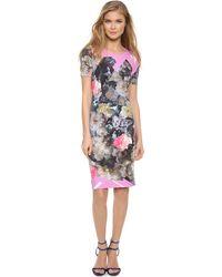 Preen Shina Dress - Painted Flower - Lyst