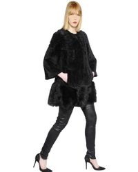 Drome Shearling Fur Coat - Lyst