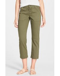 CJ by Cookie Johnson - 'command' Crop Cargo Pants - Lyst