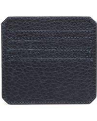 Parabellum | blue Navy Leather Cardholder | Lyst