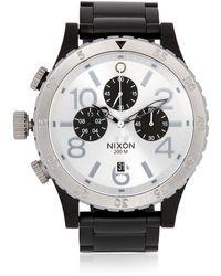 Nixon The 4820 Chronograph Watch - Lyst