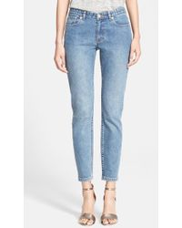 A.P.C. Skinny Ankle Jeans - Lyst
