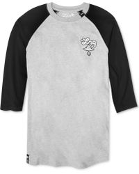 LRG Colorblocked Baseball Tshirt - Lyst