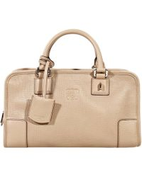 Loewe Handbag Amazona Small Grained Calf Gold Detail - Lyst
