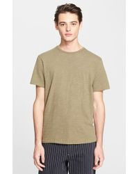 Rag & Bone Slubbed Cotton T-Shirt - Lyst