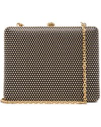 Alexander McQueen Evening Book Clutch with Chain - Lyst