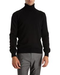 Barneys New York Turtleneck Sweater - Lyst