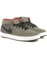 Nike Sb Zoom Omar Salazar In Urban Haze/Crimson gray - Lyst