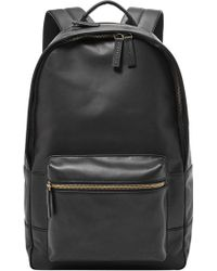 Fossil - 'ledge' Leather Backpack - Lyst