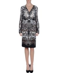 Roberto Cavalli Knee-Length Dress - Lyst