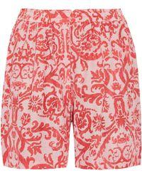 Day Birger et Mikkelsen - Fresco Printed Jersey Shorts - Lyst
