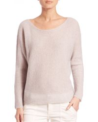 Joie | Kerenza Slouched Ribbed Cashmere Sweater | Lyst