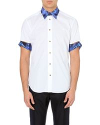 Vivienne Westwood Deconstructed-sleeve Cotton Shirt - Lyst