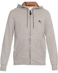 Burberry Brit - Pearce Hooded Fleece Sweater - Lyst