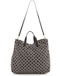 By Malene Birger Maggia Shoulder Bag Black - Lyst