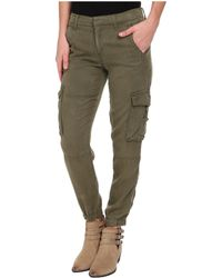 Lucky Brand Tencel Cargo Pants - Lyst