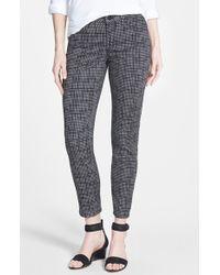 Nydj 'Clarissa' Print Stretch Twill Skinny Crop Pants - Lyst