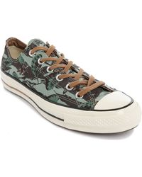 Converse 70S Chuck Tiger Flower Ox Sneakers green - Lyst