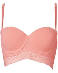 Forever 21 Everyday Convertible Corset Bra - Lyst