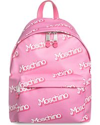 Moschino Barbie Logo-detail Backpack - Lyst