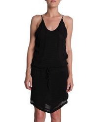 Iro Black Armonie Dress - Lyst