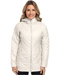 The North Face White Transit Jacket - Lyst