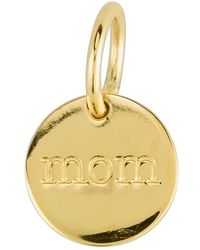 Baroni - 'mom' Dangle Charm - Lyst
