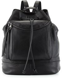 Kooba - Steinbeck Leather Drawstring Backpack - Lyst