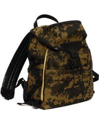 Alexander McQueen Techno Clip Tech Back-Pack multicolor - Lyst