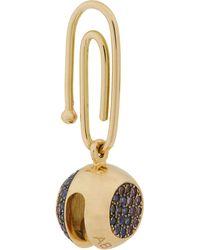 Aurelie Bidermann Gemstone Bell Charm - Lyst