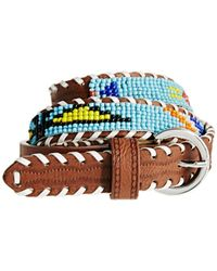 Asos Sead Bead Aztec Waist Belt - Lyst