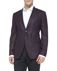 Paul Smith Woolsilk Two-button Jacket - Lyst