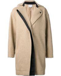 Atto - Oversized Coat - Lyst