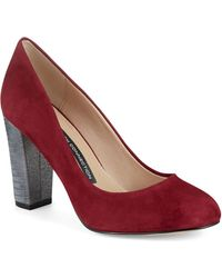 French Connection Millie Heels - Lyst