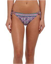 Nanette Lepore Mallorca Mosaic Vamp String Tie Side Bottom - Lyst