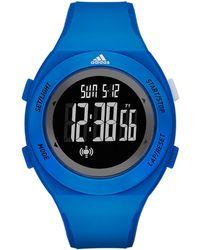 adidas Originals - Blue Polyurethane Strap Watch - Lyst