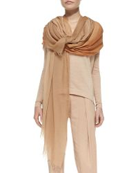 Donna Karan New York Ombre Scarf - Lyst