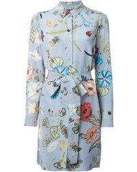 Gucci Flora by Kris Knight Shirt Dress - Lyst