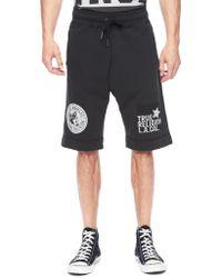 True Religion European Fleece Logo Mens Short - Lyst