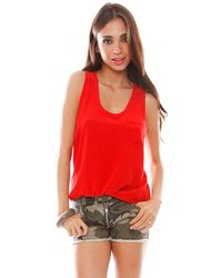 Joie Alicia Pocket Tank - Lyst