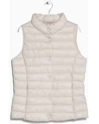 Mango Water-repellent Foldable Gilet - Lyst