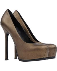 Yves Saint Laurent Rive Gauche Pump - Lyst