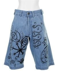 Jeremy Scott Bermuda Shorts - Lyst