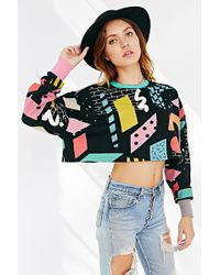 Lazy Oaf - Blocks Printed Sweater - Lyst