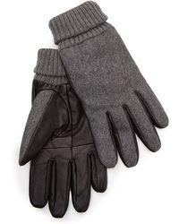 Forever 21 - Leather Paneled Gloves - Lyst