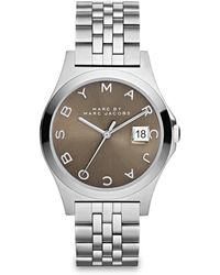 Marc By Marc Jacobs Henry Slim Stainless Steel Bracelet Watch/Dirty Martini - Lyst