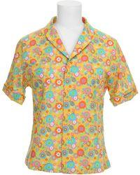 Jeremy Scott Shirt yellow - Lyst