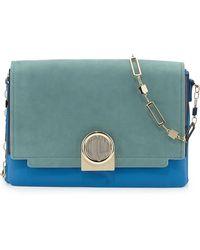 Pour La Victoire Bijou Colorblock Chain Shoulder Bag - Lyst