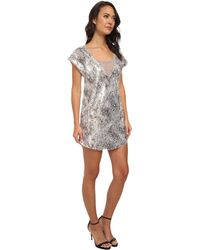 Free People Shattered Glass Sequin Midnight Dreamer Dress - Lyst